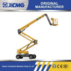XCMG Fabricant plate-forme de travail aérienne Xga16 Mini hydraulique 16 M. Prix de vente de la machine à levage manuel de la flèche articulée remorquable