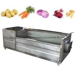 L'Oignon de carotte de pommes de terre Légumes Poisson Peeling Machine à laver d'échelle