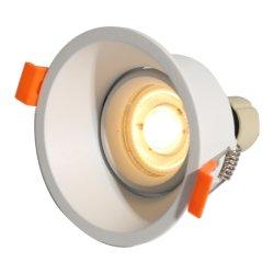 ضمان لمدة 3 سنوات GU10 MR16 تركيبات LED ضوء بيان LED سطح خارجي من الألومنيوم الزخرفي إطار إسكان تسليط الضوء على الخافت