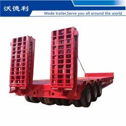 핫 세일 트라이-액슬 60t/80t 로보이 유압 램프 로우 베드 세미 로우 로더 로베드 트럭 트레일러
