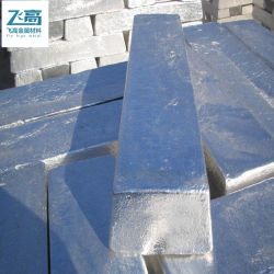 Haut qualité pure -99.99% 99,9%Fabricant lingots d'aluminium aluminium métallique