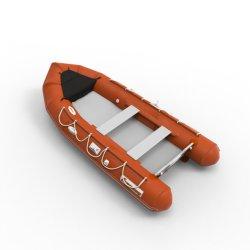 2.7m/8.8FT/PVC o Hypalon la pesca gonfiabile per 3 persone più conveniente Rib Pontoon Rubber Surf Barca a buon mercato in Cina
