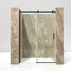 8mmの滑走の浴室の安全ガラスのシャワー・カーテン
