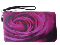 Flower Customized Digital Printing Handbag Party Lady Evening Clutch Bag