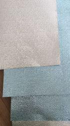 80 미크론 열 격리 공기 말 덕트를 위한 파란 입히는 돋을새김된 치장 벽토 알루미늄 장