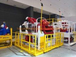 منظف الطين 1100 GPM لطرد الأنابيب موازنة موج المشروع