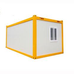 20 футов для мобильных ПК сборных плоские упакованных контейнер дом Управление лагеря