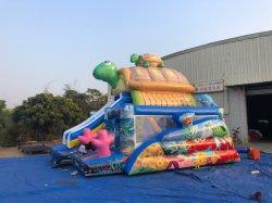Aufblasbare Tierpark-glückliche Schildkröte-kombinierter springender Prahler