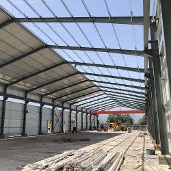 La construcción de nuevos materiales de construcción de la casa de techos móviles prefabricadas con hoja escalera viga H