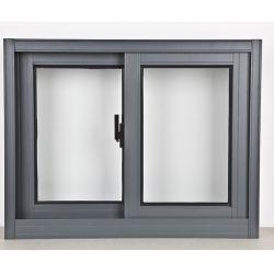 نافذة انزلاقية من الألومنيوم ذات السعر التنافسي العالي الجودة