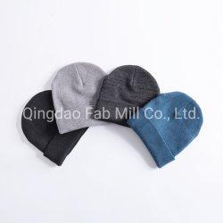 Tejidos de algodón orgánico de cáñamo Beanie Hat (BH-01)