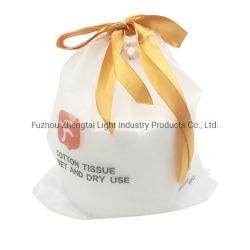 Venta caliente Facial desechable toalla de algodón puro de la mujer Facial Cleanser algodón toalla suave de barrido cara toalla de algodón puro tejido