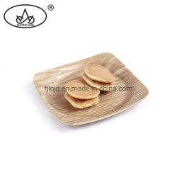 Nuts hölzerner Tellersegment-Imbiss-Brot-Mittags-Tee-Umhüllung-Halter mit kleinem