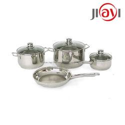 Суп из нержавеющей стали для жарки кухонной бытовой техники Плиты из нержавеющей стали пластических масс посуда наборы наборы Jy-Zx посуда