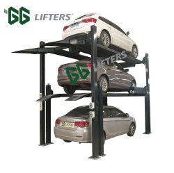 セリウムの直接工場車の記憶のための自動4つのポスト三重スタック駐車システム