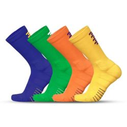 Venda por grosso de aderência do desporto não escorregar Dry-Fit Socks Homens de algodão meia de compressão de moda de Basquetebol com Terry