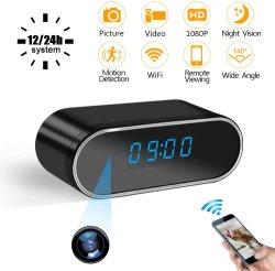 O Design do relógio WiFi câmara 1080P a segurança sem fio em tempo real da câmera
