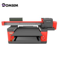 중국 공장 공급업체 A1 디지털 와이드 포맷 인쇄 기계 원본 6090 60 * 90cm UV 평판 프린터(산업용 프린트헤드 바니시 3개 포함 3D Refief 인쇄