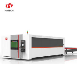 Hgtech zuinige 6 kw 8000W 12 kw 20000 W 30 kw Fiber Laser Cutting Machine voor staal/koper/messing