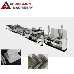 PC/PP/PE Полый профиль лист/Плата производственной линии/экструдер машины/штампованный алюминий линии