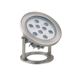 Pi68 RGB impermeável 3W 6W 9W 12W SUS304 subaquático LED Piscina Traseiras