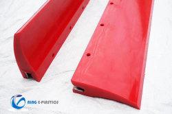 Polyurethan-Rolle mit Stahlkern PU-Schaber-Schaufeln für das Förderband-Säubern