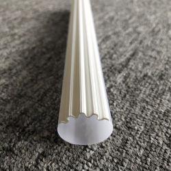 Sección transversal del tubo de Acrilico PMMA asimétrica