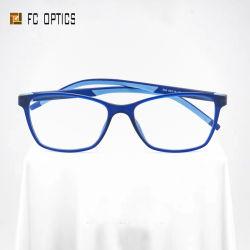デザイナーブルーライトガフのプロテクター Lunettes Optic Tr90 Monturas の月 Femmes の目ガラスガラスガラスガラスガラスの人の女性は光学フレームの Eyewear を眼鏡する デトラバホ