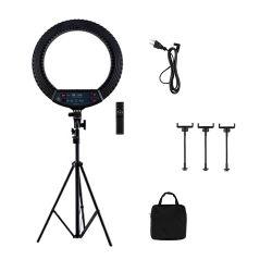 Portable 18 Zoll-Schönheit Selfie LED Kreis-Ring-Licht mit Standplatz-Telefon-Halter