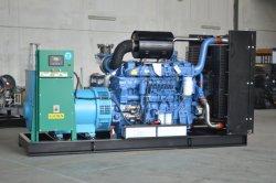 7.5KVA - 2750KVA Generador Diesel Refrigerado por Agua Trifásico Tipo Súper Silencioso / Abierto con Tanque de Combustible