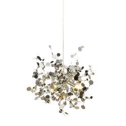 Licht Luxe moderne creatieve Kunst RVS kroonluchter woonkamer Koffieshop raam bar Decoratieve lamp
