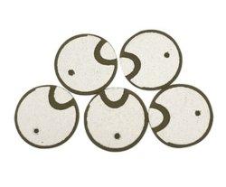 Fbpzt3mmmaterial cerámica piezoeléctrica de fabricación de obleas de cristal para medidor de agua ultrasónico