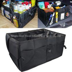 접을 수 있는 휴대용 격실 트렁크 화물 차 시동 조직자 부대 저장 상자