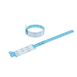 患者に使用された PVC 病院リストバンドを 1 回使用