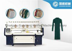 綿および他はシンカーによってヤーンの平らなセーターの編む機械を混ぜた