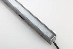 Lineales de aluminio resistente al agua 60LED SMD 5050 de la barra de luz LED