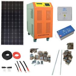 De zonne Hybride Volledige Reeks van het Systeem van het Huis 10kw met Omschakelaars, de Controlemechanismen van Batterijen (de zonenergie neemt ladings vrije elektrisch)