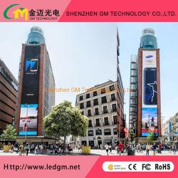 Feste RGB-Installation mit Vollfarbe P16 LED-Digitalwerbung LED-Schild für den Außenbereich/Videowand/Schild/Display/Bildschirm/Reklametafel