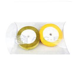 Nova chegada plástico claro a favor de casamento, dom de PVC Caixa de almofadas, embalagens de plástico transparente na caixa de doces