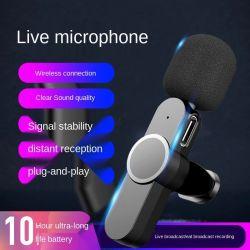 1km variedade de mão recarregável Mini Mike Mic Wireless sem Fios UHF microfone Lavalier