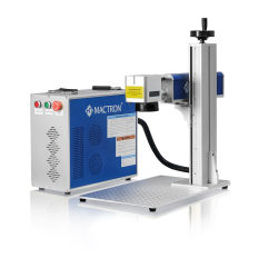 Faible prix machine de marquage au laser à fibre portable 20W pour le métal