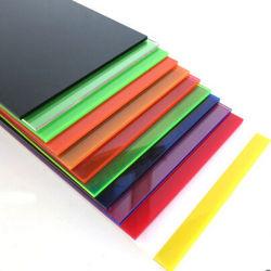 Comercio al por mayor precio de fábrica de Fundición decorativos de color claro panel acrílico