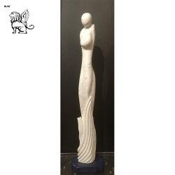 Scultura Mfsy-125 del marmo del ritratto del corpo umano della scultura di arte astratta