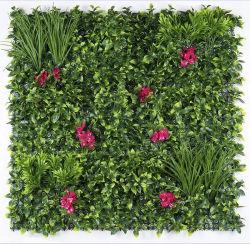 Proteção UV ao ar livre verde Artificial foliar das plantas de cobertura foliar Privacidade Vertical Jardim muro de vedação
