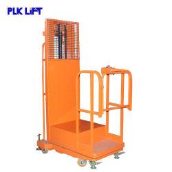 Halb elektrischer Lager-Arbeitsbühne-Ordnungs-LKW