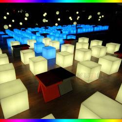 Cubo LED para vivir a casa de la esquina de Cama Mesas Cubo de iluminación