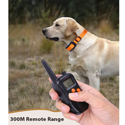 Accessoires pour animaux de compagnie Rechargeable le collier de commande de l'écorce de formation de chien