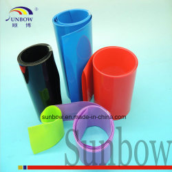 Дружественность к окружающей среде гибкий Негорючий ПВХ пластика термоусадочная трубка