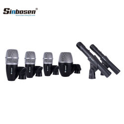 6 Trommel-Mikrofon-des gesetzten Berufstrommel-Mikrofon-Stücke Installationssatz-Pgdmk6