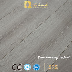 HDF à rainure en V AC4 importés en vinyle papier bois stratifiés Planchers laminés en bois